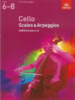 A B Cello Scales & Arpeg 2012 Gr6-8