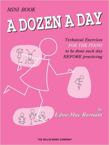 A Dozen A Day Mini Book