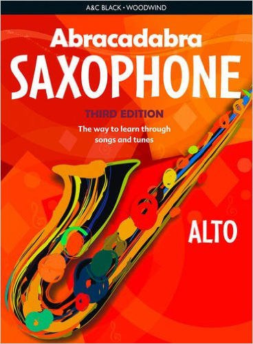 Abracadabra Saxophone Book Only 3Rd Edition