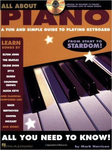 All About Piano Bk/Cd