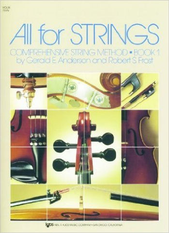 All For Strings Bk 1 Vln