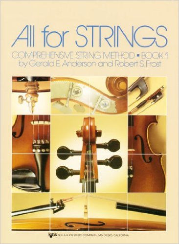 All For Strings Theory Workbook 1 Vla