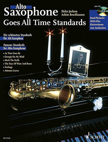 Alto Saxophone Goes All Time Standards Bk/Cd