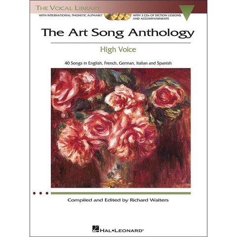 Art Song Anthology High Voice Bk/3Cd