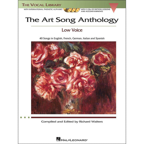 Art Song Anthology Low Voice Bk/3Cd