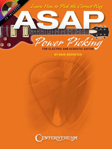 Asap Power Picking Guitar Bk/Cd