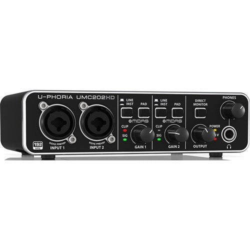 Behringer 2x2 24-BIT/192 KHZ USB Audio Interface