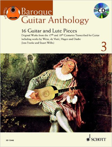 Baroque Guitar Antholgy Vol 3