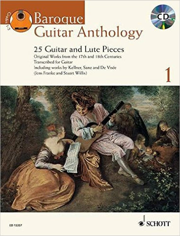 Baroque Guitar Anthology Vol 1