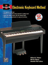 Basix Electronic Keyboard Method Bk/Cd