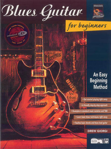 Blues Guitar For Beginners Bk/Ecd