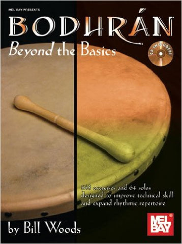 Bodhran Beyond The Basics Bk/Cd Set