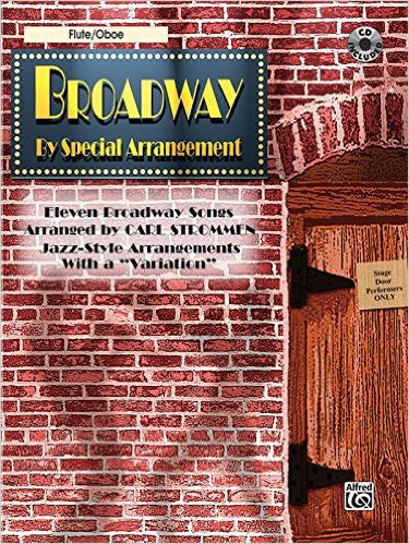 Broadway By Special Arrangement Bk/Cd Flute