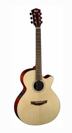 Acoustic/Electric Gtr W/C-Ay Nat Satin S-Spr-T M