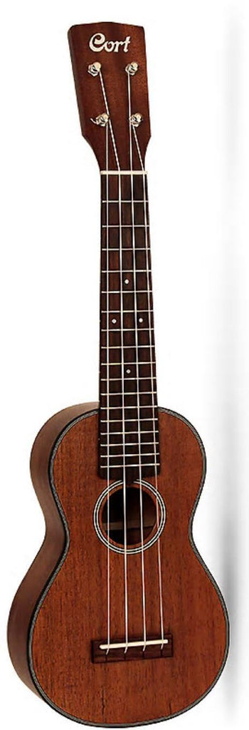Cort Soprano Ukulele All Solid Blackwood