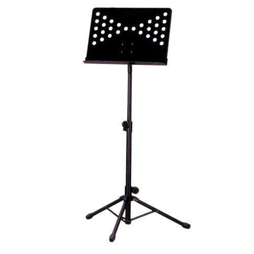 Music Stand B Conductor Black Shaft