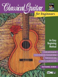Classical Guitar Beginners Bk/Ecd