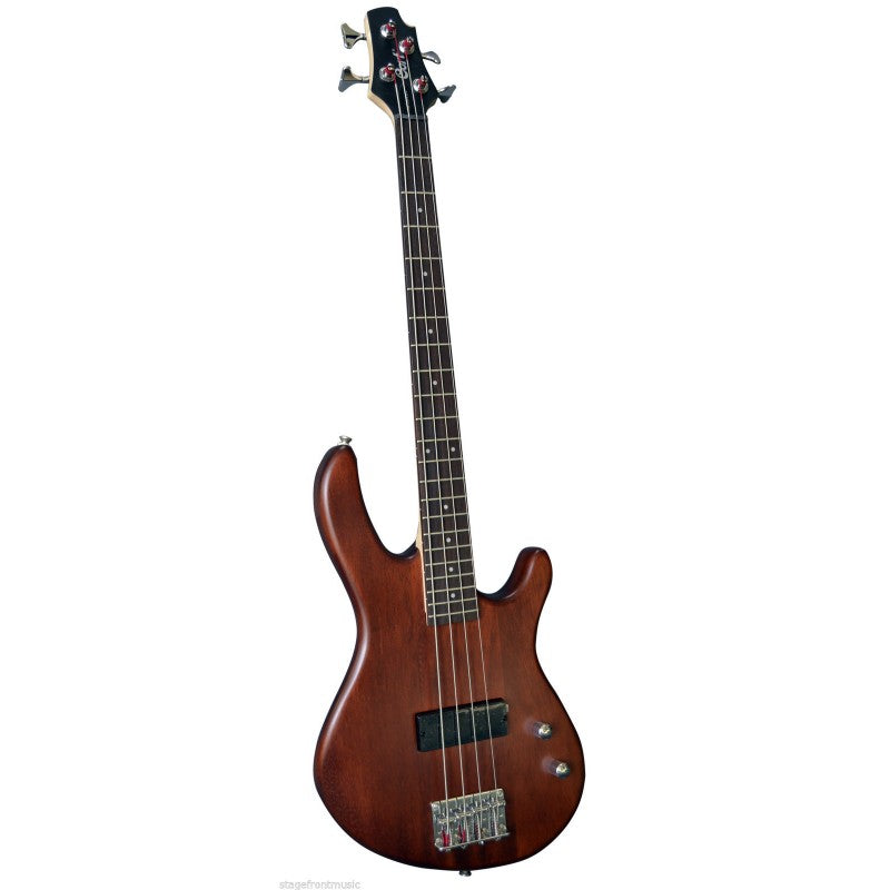 Cort Short Scale Action Open Pore Walnut