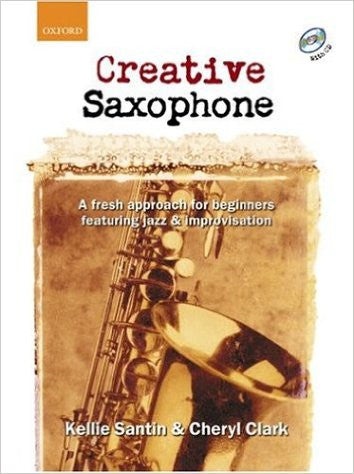 Creative Saxophone Bk/Cd