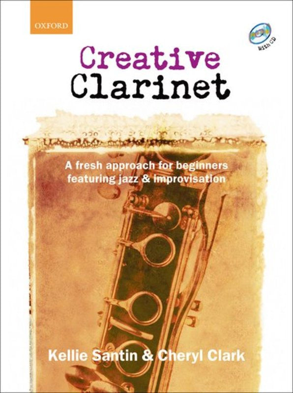 Creative Clarinet Bk/Cd