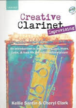 Creative Clarinet Improvising Bk/Cd