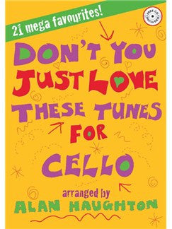 Dont You Just Love These Cello Bk/Cd