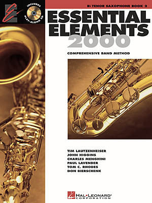 Essential Elements 2000 Bk 2 Ten Sax Bk/Cd