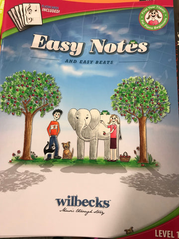Easy Notes Beginner Theory Book 1