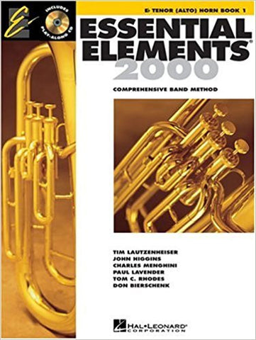 Essential Elements 2000 Bk 1 E Flat Ten Hn