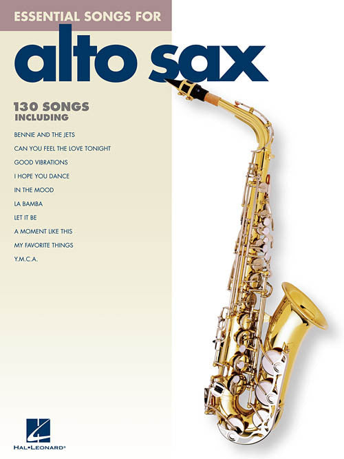 Essential Songs Alto Sax