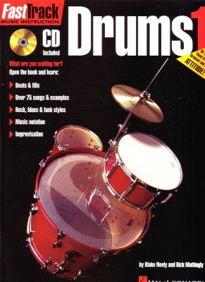 Fasttrack Drums Bk 1 Bk/Cd