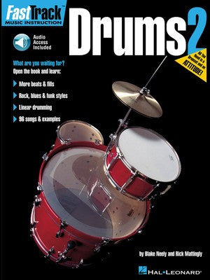Fasttrack Drums Bk 2 Bk/Cd