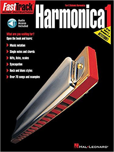 Fasttrack Harmonica Method Bk 1 Bk/Cd