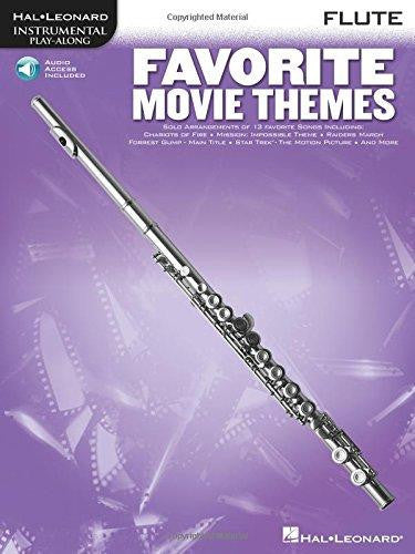 Favorite Movie Themes Flute Bk/Cd