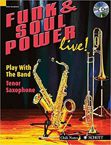 Funk And Soul Power Ten Sax Bk/Cd