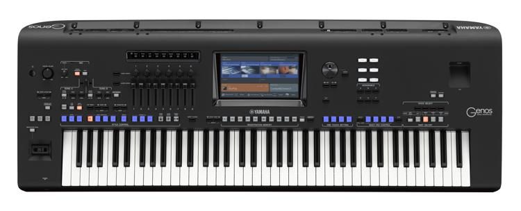 Yamaha Genos 76-Notes Keyboard Incl Speakers