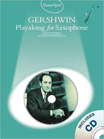 Guest Spot Gershwin For Sax Bk/Cd