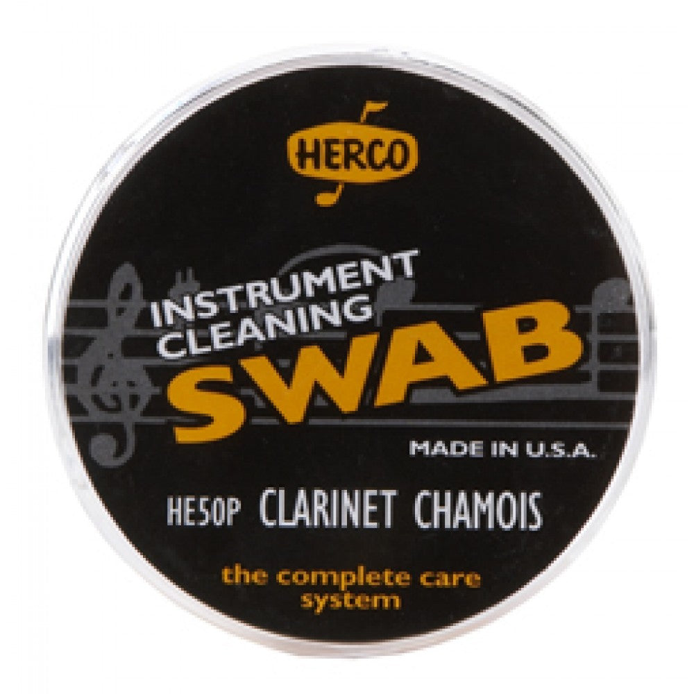 Clarinet Chamois Drop Swab