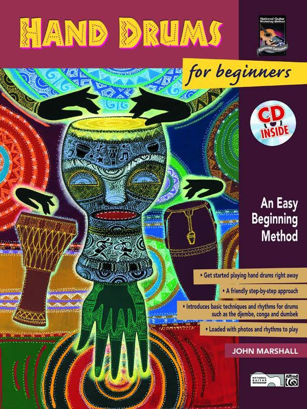 Hand Drums For Beginners BK/CD