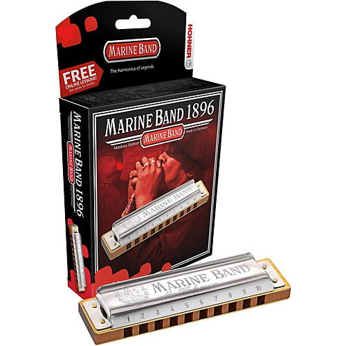 A Harmonica 10 Hole 20 Reed/Marine Band