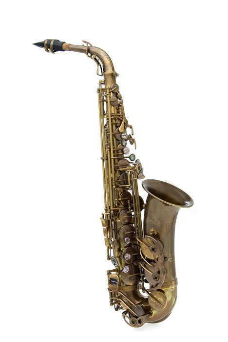 Alto Sax Antique Finish