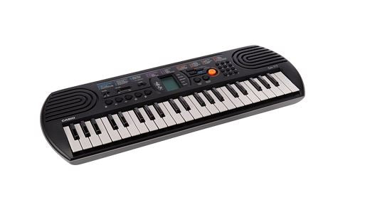 Casio SA77 Keyboard 44 Keys Grey 100 BI Tones