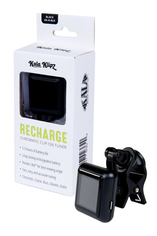 Kala Rechargeable Clip On Ukulele Tuner