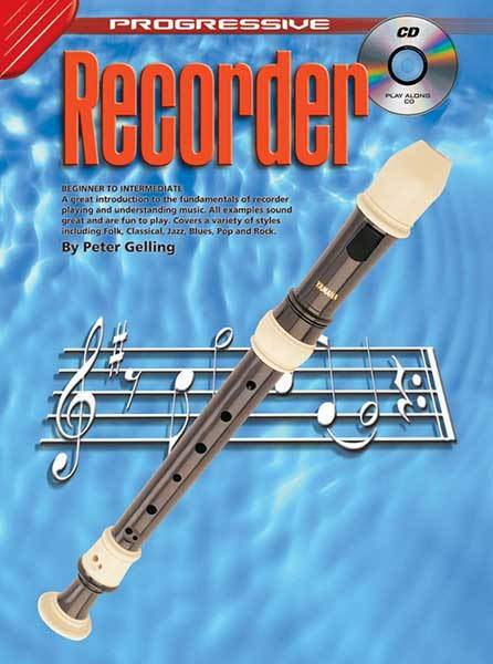Progressive Recorder Bk/Cd