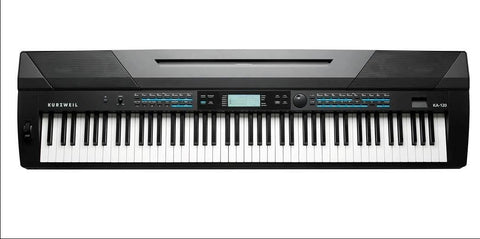 KURZWEIL KA120 88 NOTE WEIGHTED ARRANGER KEYBOARD