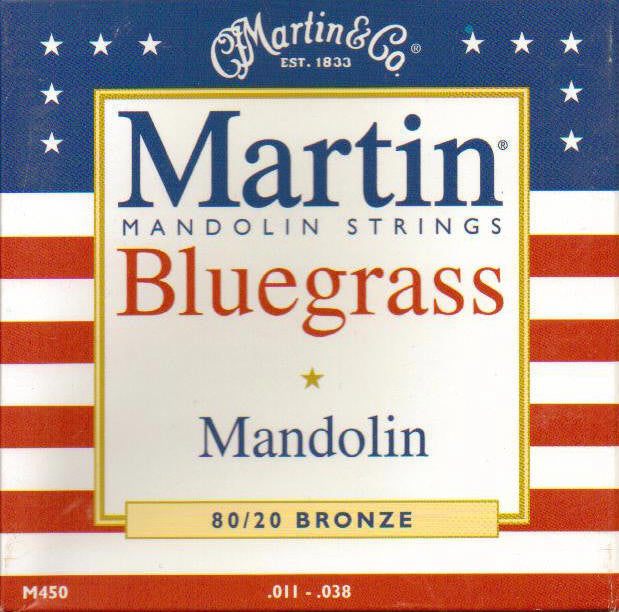 Mandolin 8 Str Set 11/38 Br Bluegrass M450