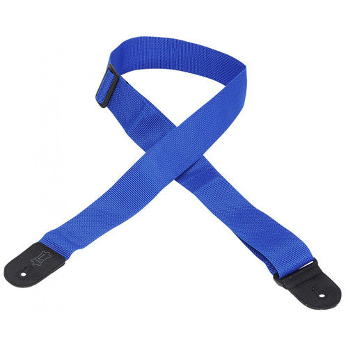 02 Inch Gtr Strap Cotton/Poly Royal Blue - Shearer's Music Work