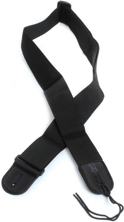 02 Inch Gtr Strap Cott/Poly Black - Shearer's Music Work