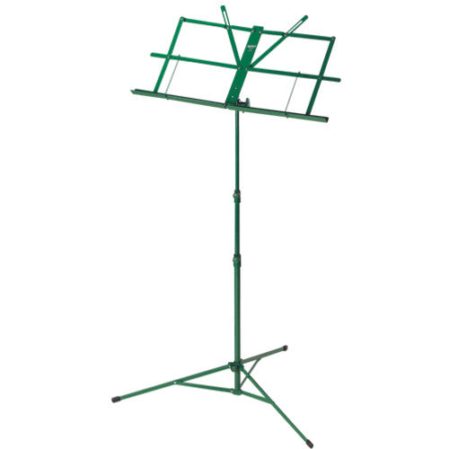 Music Stand Foldable Green