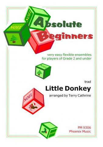 Little Donkey Arr Cathrine Ens